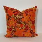 Cushion Cover Retro Orange..